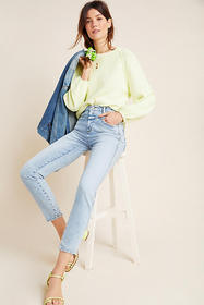 Anthropologie Closed Pedal Pusher Ultra High-Rise