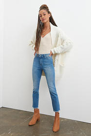 Anthropologie DL1961 Mara High-Rise Straight Ankle