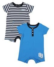 DKNY Jeans 2 pack jersey rompers set (infant)