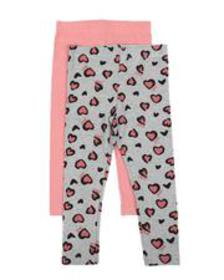 DKNY Jeans leggings twin pack (2t-4t)