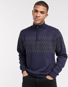 French Connection crew neck ski sweater