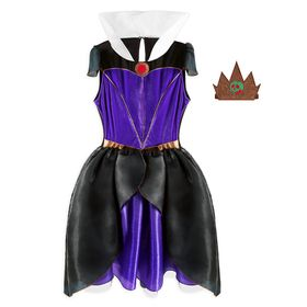 Disney Evil Queen Costume with Tutu for Adults – S