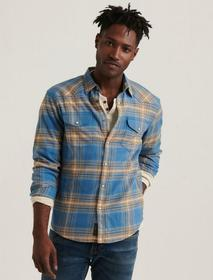 Lucky Brand Santa Fe Western Long Sleeve Shirt