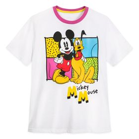Disney Mickey Mouse and Pluto T-Shirt for Adults –