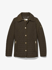Michael Kors Quilted Barn Jacket