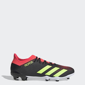 Adidas Men's Soccer Black Predator 20.3 Firm Groun