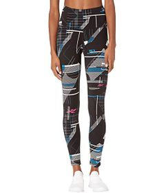 Reebok Meet You There High-Rise All Over Print Leg