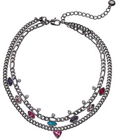 BCBGeneration Statement Double Row Necklace