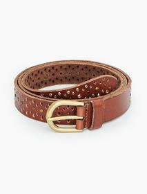 Lucky Brand Perforated Studded Belt