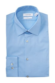 Calvin Klein Stripe Slim Fit Dress Shirt