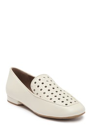 Donald Pliner Honey Perforated Loafer Flat