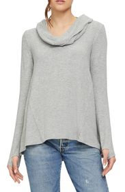 Michael Stars Madison Convertible Long Sleeve Tuni
