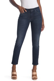 Joe's Jeans Mid Rise Ankle Crop Straight Jeans