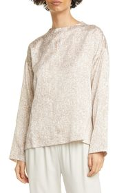 Eileen Fisher Funnel Neck Boxy Top