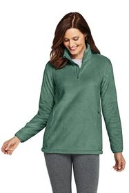 Lands End Women's Softest Fleece Tunic Pullover
