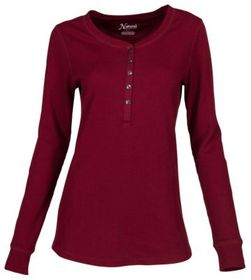 Natural Reflections Thermal Long-Sleeve Henley for