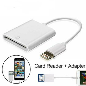 SD Card Camera Reader for iPhone iPad [Support iOS