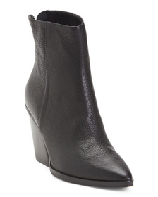 DOLCE VITA Pointy Toe Leather Booties