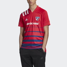 Adidas Men's Soccer Red FC Dallas Home Jersey