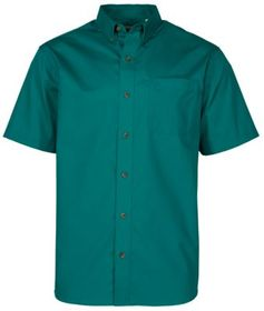 RedHead Wrinkle-Free Easy Care Solid Short-Sleeve