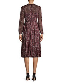 Tommy Hilfiger Pleated Paisley Dress