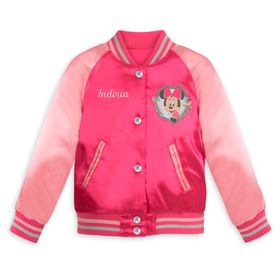 Disney Minnie Mouse Varsity Jacket for Girls – Per