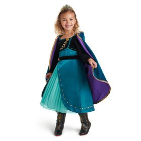 Disney Queen Anna Deluxe Costume for Kids – Frozen