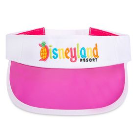 Disney Disneyland Tropical Logo Visor for Adults