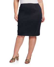 Lafayette 148 New York Plus Size Slim Skirt