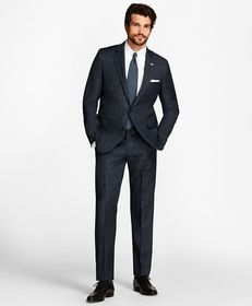 Brooks Brothers Golden Fleece® Regent Fit Windowpa