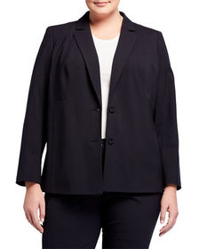 Lafayette 148 New York Plus Plus Size Henning Two-