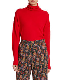 Altuzarra Wool Rhinestone-Seamed Sweater