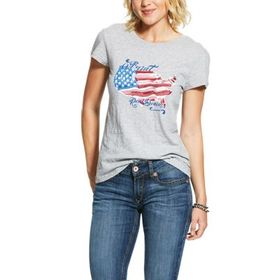 Ariat REAL Painted States Short-Sleeve T-Shirt for