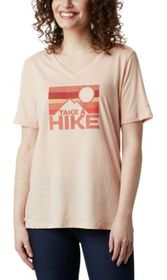 Columbia Mount Rose Take a Hike Relaxed Short-Slee
