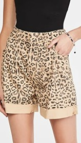 Free People Printed Dogtown Cutoff Shorts