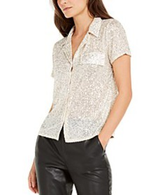 INC Sequin Shirt, Created for Macy's