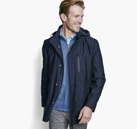 Johnston Murphy XC4 Textured Trench