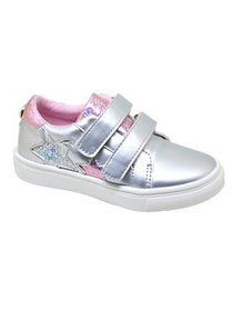 Nicole Miller New York Star Two-Strap Low-Top Snea