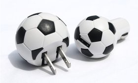 Soccer USB Chargers (Outlet & Auto Set)