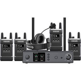 Hollyland Full-Duplex Intercom System with Four Be