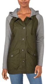 Natural Reflections Hooded Canvas Jacket for Ladie