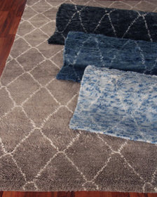 Exquisite Rugs Nonali Hand-Knotted Rug 8' x 10'