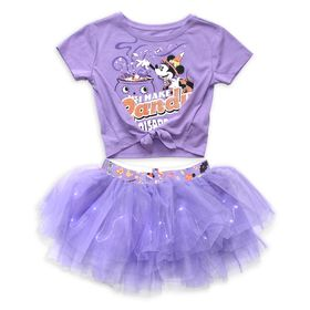 Disney Minnie Mouse Halloween Top and Tutu Set for