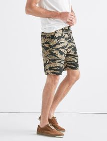 Lucky Brand Seersucker Camo Short