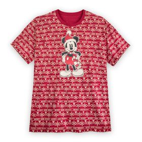 Disney Mickey Mouse Holiday Cheer T-Shirt for Men
