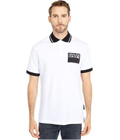 Versace Jeans Couture Logo Patch Polo