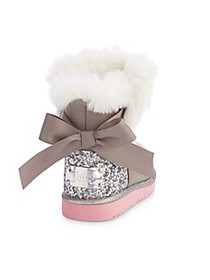 Juicy Couture Baby Girl's & Little Girl's Faux Fur
