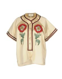 GUCCI - Solid color shirts & blouses