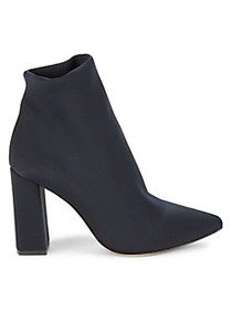 Charles David Lau Block-Heel Stretch Booties
