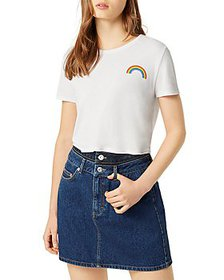 FRENCH CONNECTION - Pride Rainbow Cotton Tee